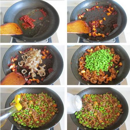猪皮辣豆步骤7-12