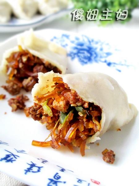 豆腐猪肉粉条蒸饺的做法