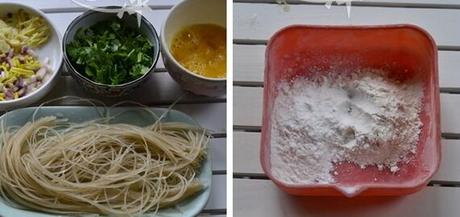 粉条炒鸡蛋的做法步骤3-4