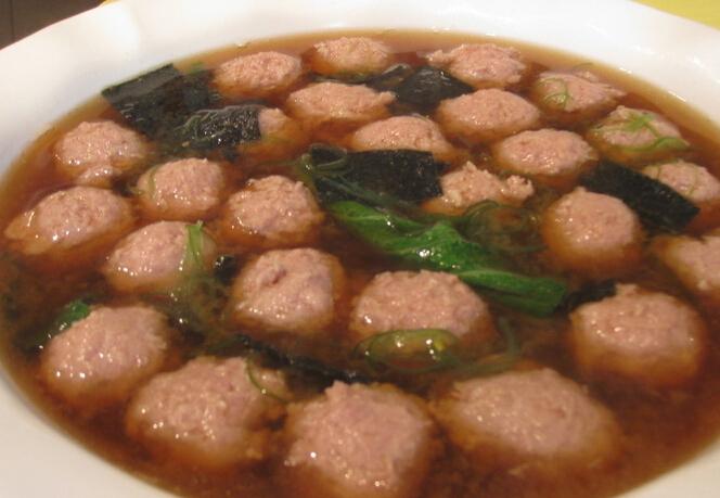 丸子汤的做法,丸子汤的家常做法